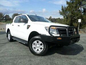 2011 Ford Ranger PX XL 3.2 (4x4) White 6 Speed Manual Dual Cab Utility Belconnen Belconnen Area Preview