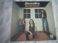 Vinyl LP Status Quo On The Level Vertigo 9102 002