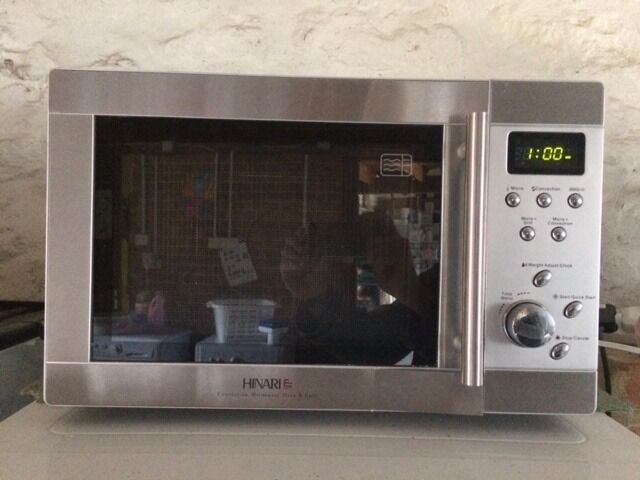 Hinari Lifestyle Convection Microwave Oven Grill Stainless Steel Immaculate Price
