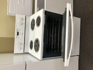 *** USED *** White coil Stove