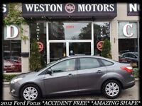 2012 Ford Focus *SE*LOW KMS!*ACC FREE*AMAZING SHAPE*