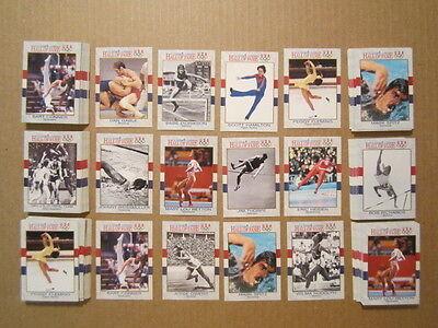 J420 Usa Olympic Track Boxing Swimming Figure Skating Gymnastics Wrestling Lot