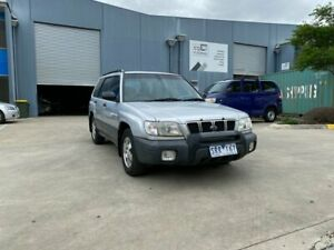 2001 Subaru Forester Special Edition Silver 5 Speed Manual Wagon Newport Hobsons Bay Area Preview