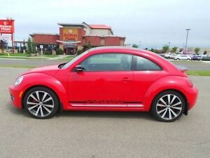 2013 Volkswagen Beetle Coupe TURBO DSG Navigation (GPS),  Leathe