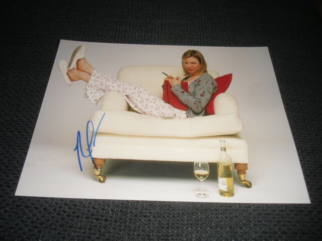 RENEE ZELLWEGER signed 8x11 inch autographed SEXY Photo InPerson 2011 in Berlin