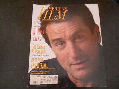 Robert De Niro  Laura Dern   American Film Magazine 1989
