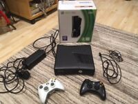 Xbox 360 250GB Black Console, 2 wireless controllers and 11 games
