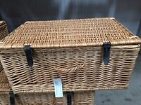 New Wicker Baskets 24 inch (8 available)
