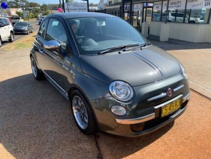 2013 Fiat 500 MY13 POP Grey 5 Speed Manual Hatchback Port Macquarie Port Macquarie City Preview