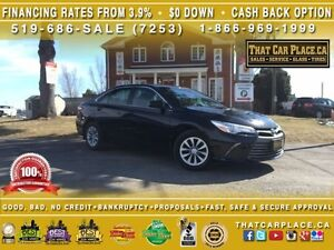 2016 Toyota Camry LE-Clean Carproof-$70/Wk