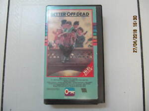 Classic Better Of Dead VHS Movie Starring John Cusack Circa 1985