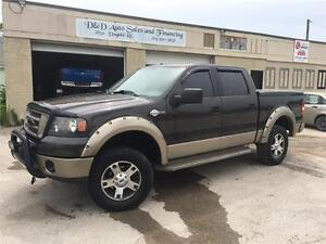 2006 Ford F-150 King Ranch-4WD-LEATHER-SUNROOF-LOADED-ALLOYS