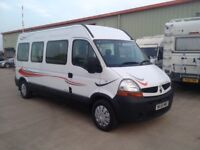 Renault Master Autosleeper Motorhome 2 berth 6 speed 35mpg well looked after