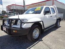 2012 Nissan Navara D40 MY11 RX (4x4) White 5 Speed Automatic Dual Cab Chassis Sandgate Newcastle Area Preview