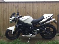 Triumph Street Triple 675 - low mileage and loads of extras