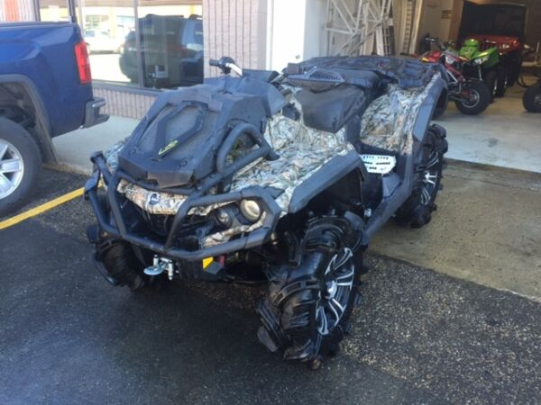 Used 2013 Can-Am OUTLANDER XMR 1000 air suspension
