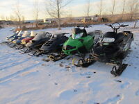 This years used sleds