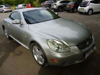 Lexus SC 430 4.3 2dr Convertible with Full Service History and Warranty