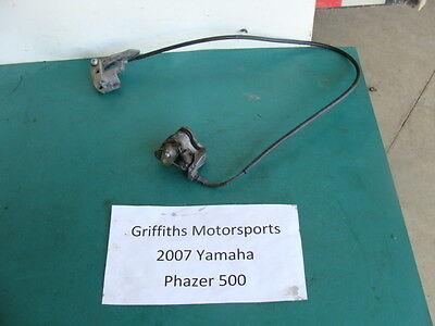 07 Yamaha Phazer FX mt-x? 500 08? 09? PARKING BRAKE CALIPER LEVER CABLE PERCH