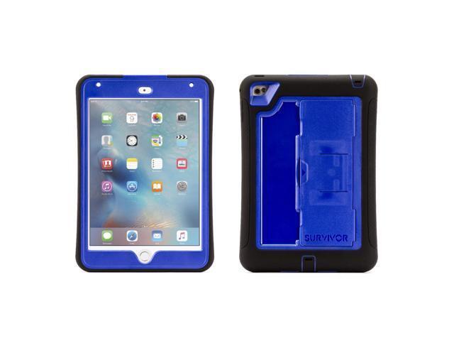 Griffin Technology Survivor Slim Case for Apple® iPad® mini 4 Black/Blue GB41367