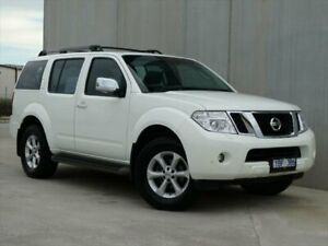 2010 Nissan Pathfinder TI White Sports Automatic Wagon South Geelong Geelong City Preview