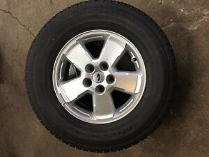 Winter Tires with Aluminum Rims & Sensors For 2010 Ford Escape