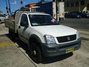 2005 Holden Rodeo RA LX White 4 Speed Automatic Cab Chassis Canada Bay Canada Bay Area Preview