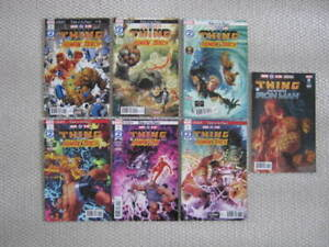 Marvel Comics 2 In One The Thing and the Human Torch # 1 to 6