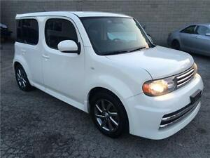 2010 NISSAN CUBE  CERTIFIED &E-TEST, ON SPECIAL