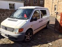 Campervan for repair or spares for a new conversion