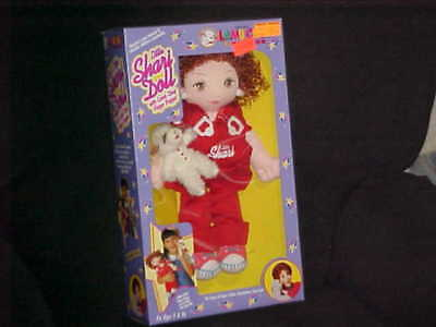 Little Shari Lewis Cloth Doll With Lamb Chop Finger Puppet MIB From 1994 Little Lamb Finger Puppet