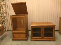 Stereo and TV Cabinet