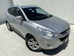 2012 Hyundai ix35 LM MY12 Active Silver 6 Speed Sports Automatic Wagon Mundingburra Townsville City Preview
