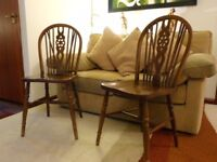Victorian Wheel back Windsor Chairs