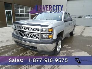 2014 Chevrolet Silverado 1500 4X4 CREWCAB Accident Free,  Blueto