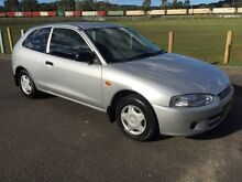 2003 Mitsubishi Mirage CE Silver 5 Speed Manual Hatchback West Gosford Gosford Area Preview