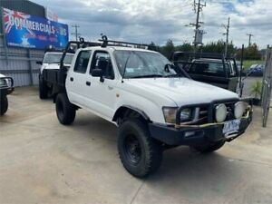 1999 Toyota Hilux LN167R (4x4) White 5 Speed Manual 4x4 Dual Cab Pick-up Lilydale Yarra Ranges Preview