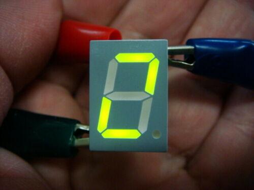 "LOT 25 GREEN 0.5"" High 7-segment LED Displays - VISHAY TDSG5157 - New and Unused"