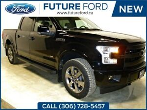2017 Ford F-150 Lariat-FX4-TAILGATE STEP 20WHEELS-SPORT PACKAGE