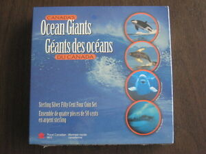 Whale Lover's Coin Set - Canada's Ocean Giants