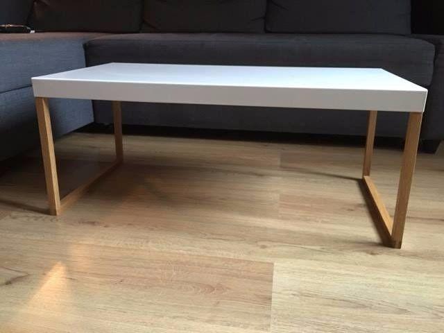 Habitat Kilo White Metal Coffee Table