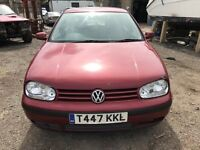 Cheap car of the day Volkswagen Golf, starts and drives well, MOT until 27th July, very cheap motor,