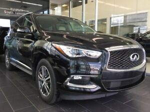 2017 Infiniti QX60 CPO rates as low at 4.49%, 6 year/160,000km c