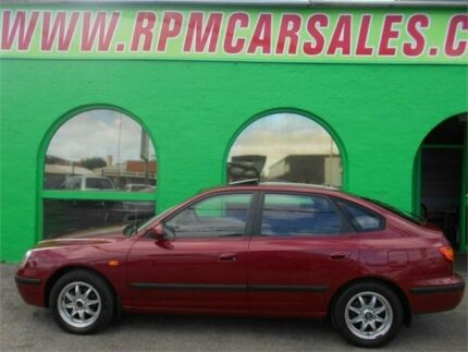 2003 Hyundai Elantra XD GLS Claret 4 Speed Automatic Hatchback Nailsworth Prospect Area Preview