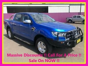 2017 Ford Ranger PX MkII MY17 XLT 3.2 (4x4) Blue 6 Speed Automatic Double Cab Pick Up Dubbo Dubbo Area Preview