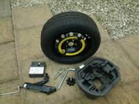 Skoda roomster spare wheel kit.