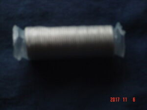 2008 CANADA 25 CENT OLYMPIC COIN ROLL.