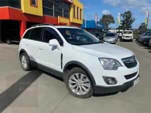 2014 Holden Captiva CG MY14 5 AWD LT White 6 Speed Sports Automatic Wagon Laverton North Wyndham Area Preview