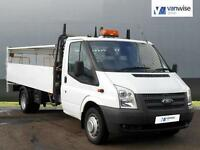 2012 Ford Transit 350 DRW Diesel white Manual