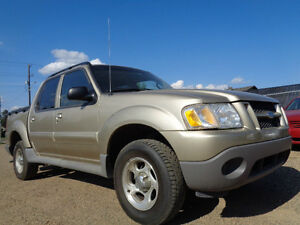 2003 Ford Explorer Sport Trac XLT  CREWCAB----CLEARANCE SALE